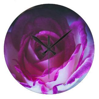Beautiful rose flower clocks