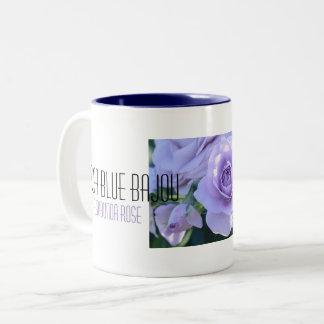 Beautiful Rose: Rosa Blue Bajou Two-Tone Coffee Mug