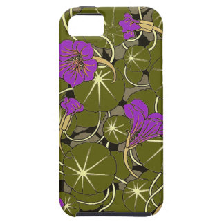Beautiful Rose WaterLily Pattern iPhone 5/5s Case