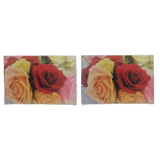 Beautiful Roses Photo Print Design Pillowcase