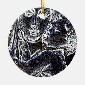 Beautiful Round Ceramic Ornament