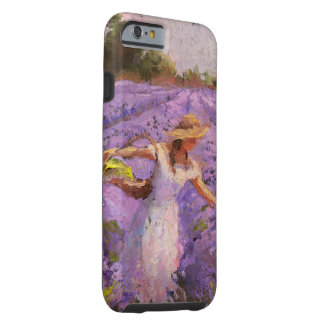 Beautiful Rows of Lavender iPhone 6 Tough Case