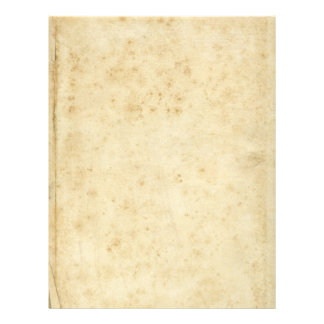 Beautiful Rustic Stained Antique Blank Old Paper Custom Letterhead