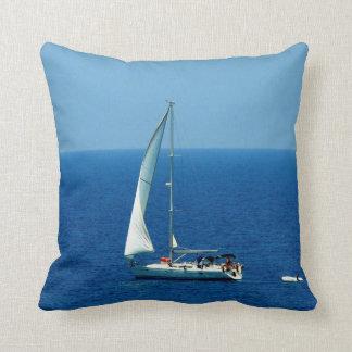 Beautiful Sailboat Throw Pillow