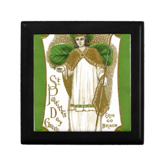 Beautiful saint patrick old poster gift box