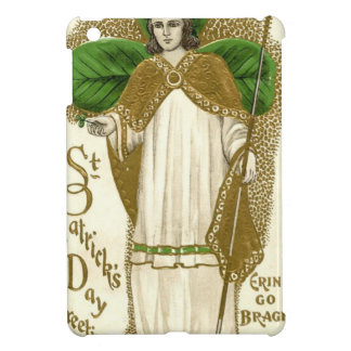 Beautiful saint patrick old poster iPad mini case