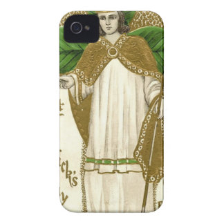 Beautiful saint patrick old poster iPhone 4 cover