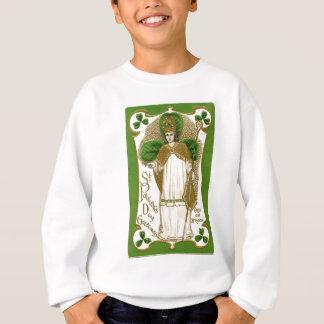 Beautiful saint patrick old poster sweatshirt