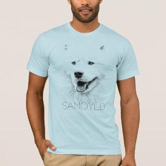 Beautiful Samoyed dog art T-Shirt