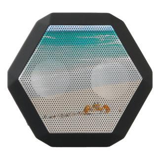 Beautiful Sandy Beach And Crab Black Bluetooth Speaker