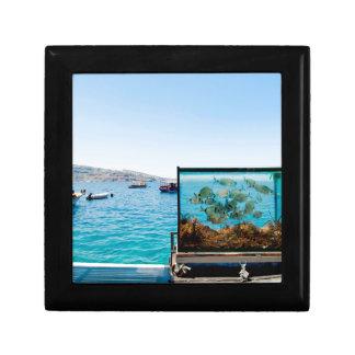 Beautiful Santorini sea view Gift Box