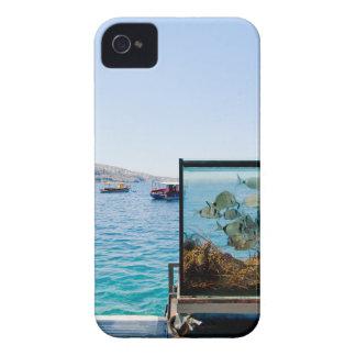 Beautiful Santorini sea view iPhone 4 Case