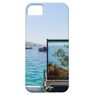 Beautiful Santorini sea view iPhone 5 Case