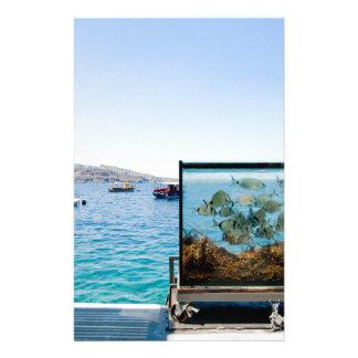 Beautiful Santorini sea view Stationery