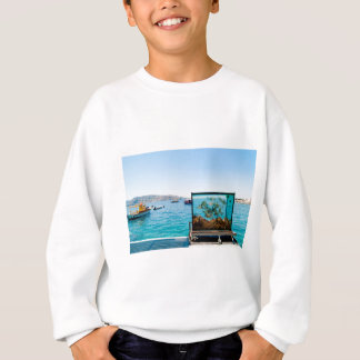 Beautiful Santorini sea view Sweatshirt