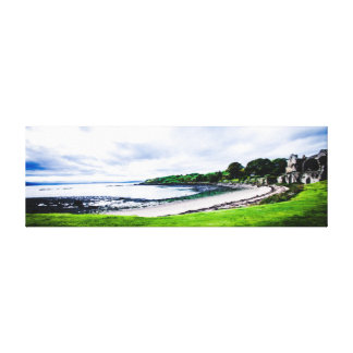 Beautiful scenary at Inchcolm Island on the Forth Canvas Print