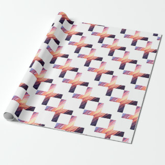 Beautiful Scenery X sign Wrapping Paper
