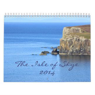 Beautiful Scenes from Isle of Skye: 2014 Wall Calendars