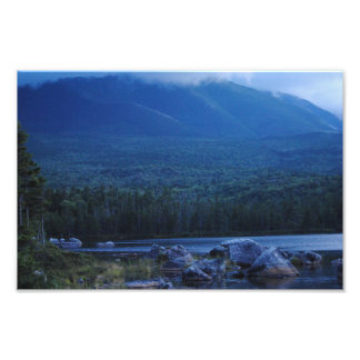 Beautiful Scenic View From Maine Photo Print