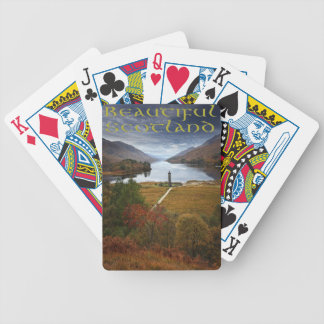 Beautiful Scotland Bicycle Playing Cards