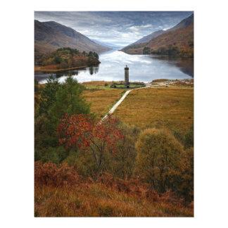 Beautiful Scotland Customized Letterhead