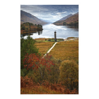 Beautiful Scotland Customized Stationery