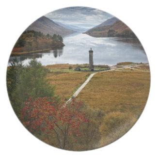 Beautiful Scotland Plate