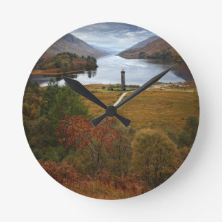 Beautiful Scotland Round Clock