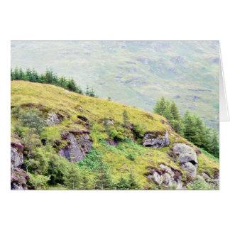 Beautiful Scottish Countryside Card