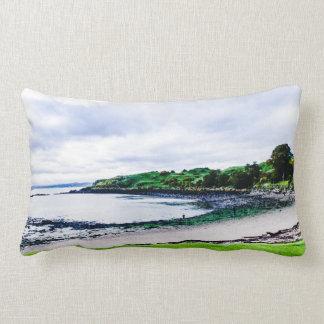 Beautiful Scottish Inchcolm Island Lumbar Pillow