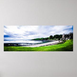 Beautiful Scottish Inchcolm Island Poster