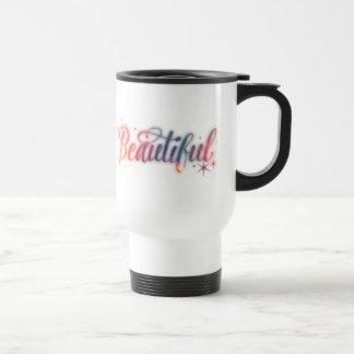 Beautiful Script Travel Mug