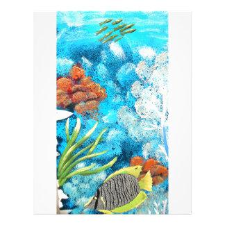 Beautiful Sea Customized Letterhead