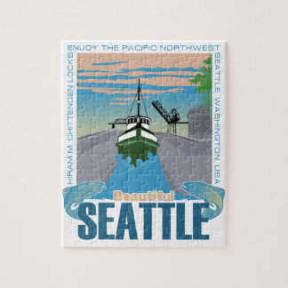 Beautiful Seattle Jigsaw Puzzle