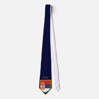Beautiful Serbia Flag Tie
