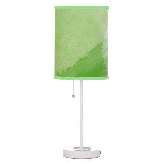 Beautiful Shades of Green Custom Lamp