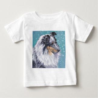Beautiful Sheltie Shetland Sheepdog Fine Art Baby T-Shirt