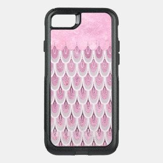 Beautiful shining feminine and elegant mermaid gli OtterBox commuter iPhone 8/7 case