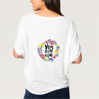 beautiful shirt with logo of Venezuela