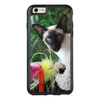 Beautiful Siamese Cat Playing With Toy OtterBox iPhone 6/6s Plus Case