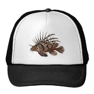 Beautiful & Simple Vintage Lion Fish Trucker Hat