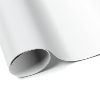 Beautiful Simple White Satin Wrapping Paper