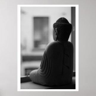 Beautiful Sitting Buddha Poster