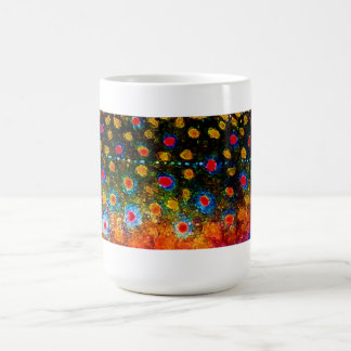 """Beautiful Skin, Brook Trout"" by James Lady Coffee Mug"