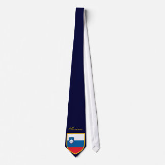 Beautiful Slovenia Flag Tie