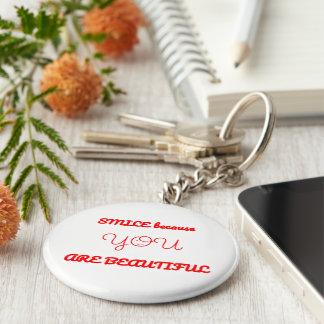 Beautiful Smile Keychain
