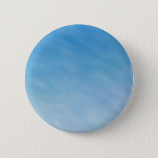 Beautiful Soft Blue Sky with Dreamy Clouds 2 Inch Round Button