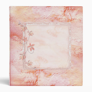 Beautiful Soft Pink Binder