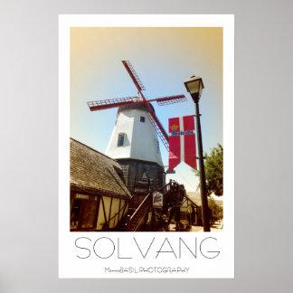 Beautiful Solvang Poster! Poster