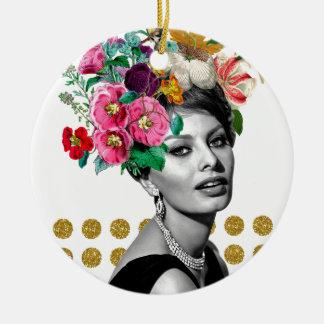 Beautiful Sophia Ceramic Ornament